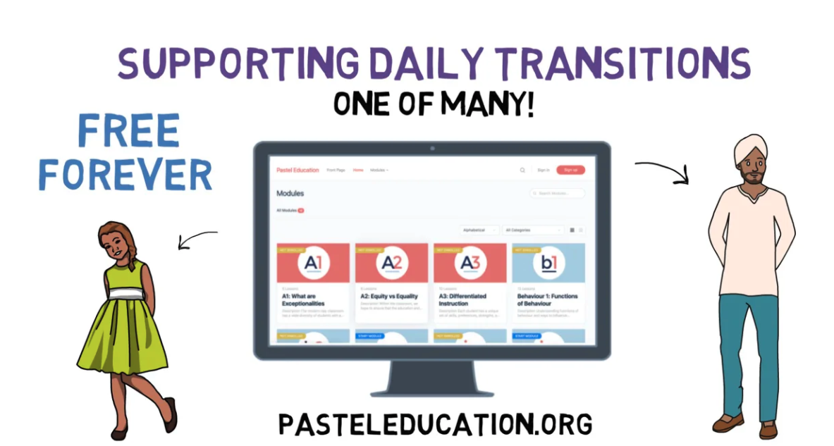 Supporting Daily Transitions explainer video icon